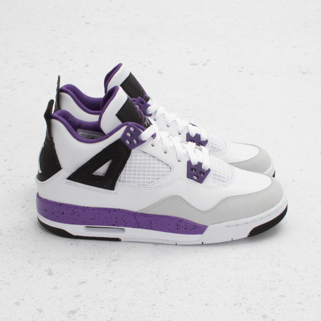 Air Jordan 4 - Air Jordan 4 For Girls Nikes Réduction De Gros